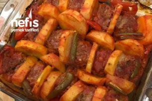 Fırında Patates Köfte (5 Dakikada) Tarifi