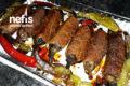 Köfteli Közlenmiş Patlıcan Sarma Tarifi
