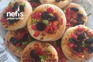 Poğaça Pizza Tarifi