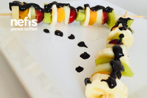 Sağlıklı Meyve Şiş Tarifi