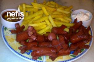 Sosis Tava-Patates Tava Tarifi
