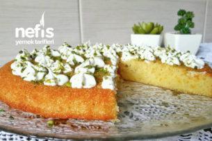Tart Kalıbında Portakallı Revani Tarifi