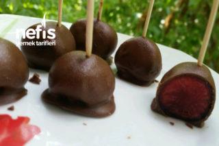 Çikolatalı Kiraz Toplar (Denemeye Değer) Tarifi