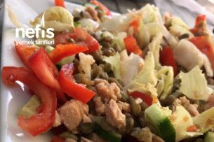 Proteini Zenginleştirilmiş Ton Balıklı Salata Tarifi