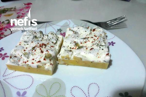 Yoğurtlu Turşulu Patates Tarifi