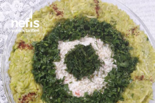 Efsane Yoğurtlu Kuskus Salatası (Gün Veya Misafirler İçin) Tarifi