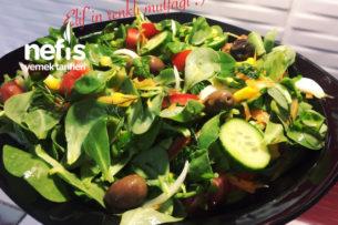 Nefis Semizotlu Bahar Salatası (Vitamin Deposu) Tarifi