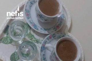 Şekerli Sütlü Türk Kahvesi Tarifi
