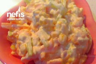 Tavuklu Biberli Salata Tarifi