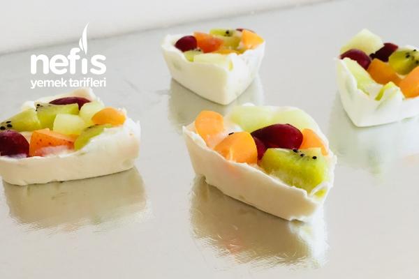 Donmuş Meyveli Yoğurt Tarifi