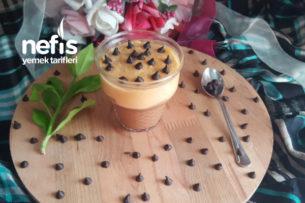 Karamelli Çikolatalı Puding (Tam Kıvamında Enfes 2 Lezzet) Tarifi