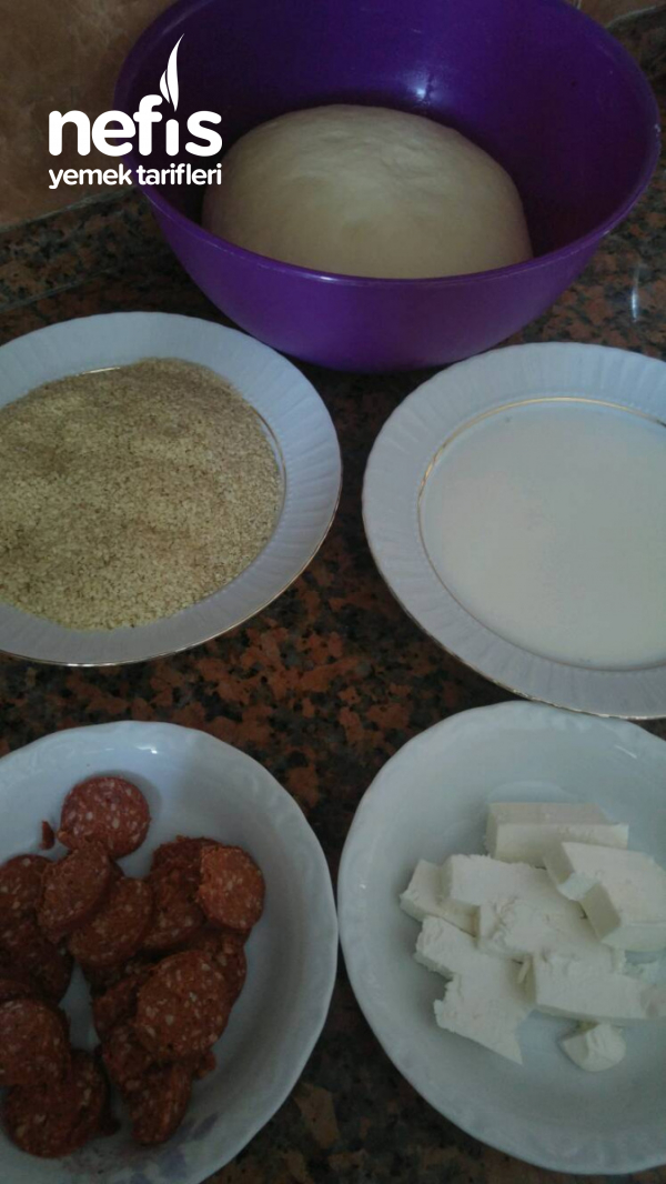Simit Pogaca (yumurtasız)