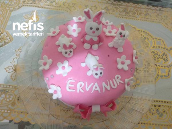 Tavsancik doğum günü pastası