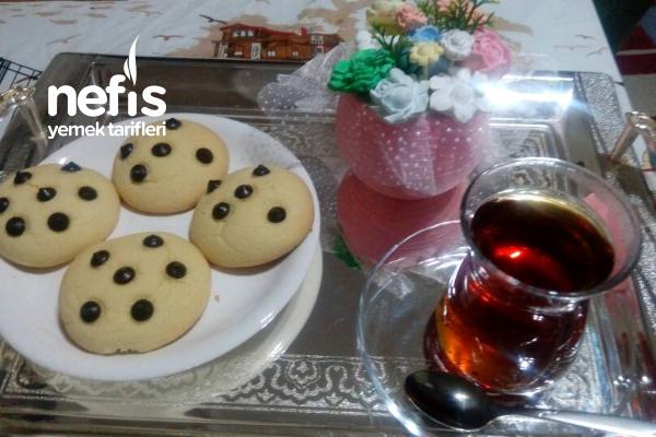 Damla Çikolatalı Pastane Tadında Kurabiye (Vita Yağlı)