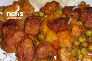 Fırında Tavuk Köfteli Türlü Tarifi