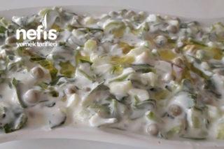Fresh Bezelyeli Semizotu Salatası Tarifi