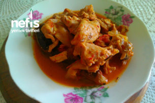 Güveçte Patlıcanlı, Limonlu Tavuk Tarifi
