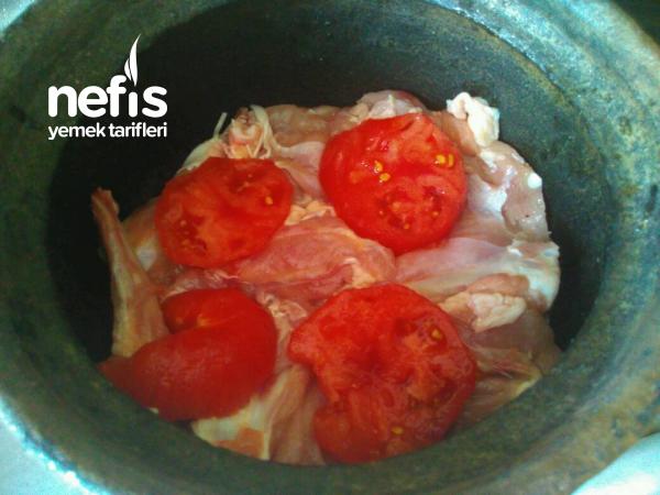 Güveçte Patlıcanlı, Limonlu Tavuk