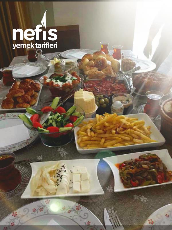 Ramazan sonrası ilk kahvaltı