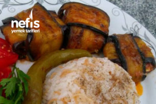Patlıcan Bohçası ( tavuklu ) Tarifi