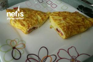 Karışık Sandviç Omlet Tarifi