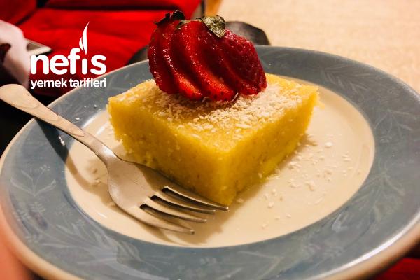 Peynirli Sütlü İrmik Helvası Tarifi