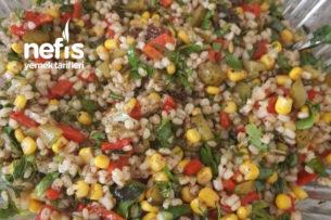 Yedikçe Yediren Buğday Salatası Tarifi