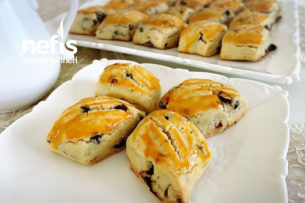 Üzümlü Pastane Kurabiyesi Tarifi