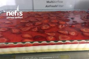 Yaz Tatlısı Çilekli Pasta Tarifi