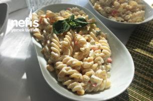 Nefis Makarna Salatası (Hafif Mi Hafif) Tarifi
