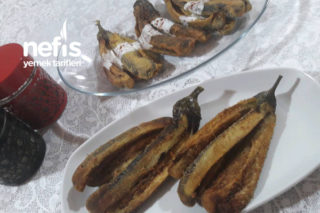 Balık Tadında Patlıcan Kızartması Tarifi