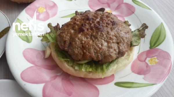 Evde Hamburger Yapimi(muthis Lezzet)