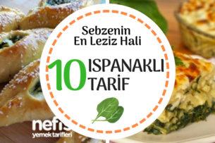Ispanaklı Tarifler Tamamı Denenmiş 10 Nefis Öneri Tarifi