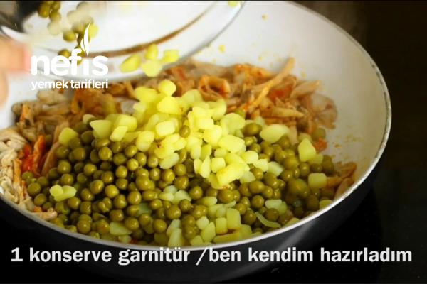 Tavuklu Krep Sarma (videolu)