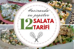 Haziran Ayında En Popüler 12 Salata Tarifi