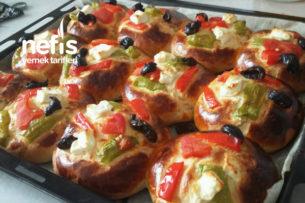 Puf Puf Pizza Poğaça Tarifi