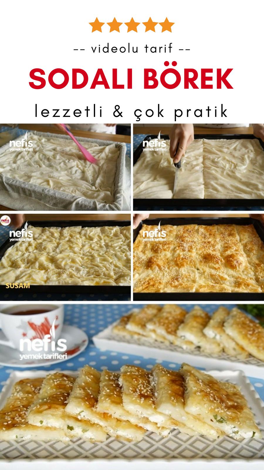 Peynirli Börek Tarifi Videosu