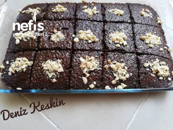 Ağızda Nefis Tat Bırakan Islak Kek Browni Tadında