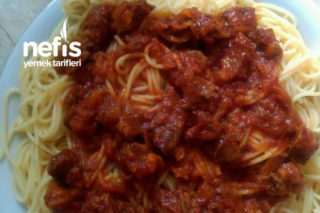 Etli Spagetti Tarifi