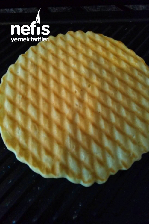 Tost Makinasında Enfes Waffle Tarifi