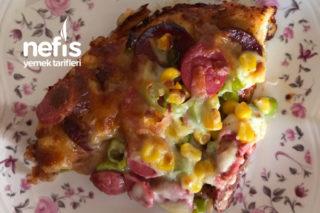 Bol Malzemos Pizza (Hazırları Aratmayan Tarif) Tarifi