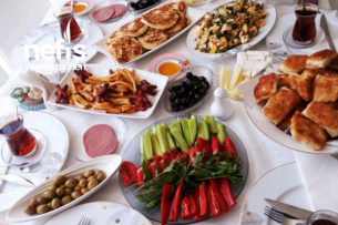 Nefis Kahvaltı Sofrası Tarifi