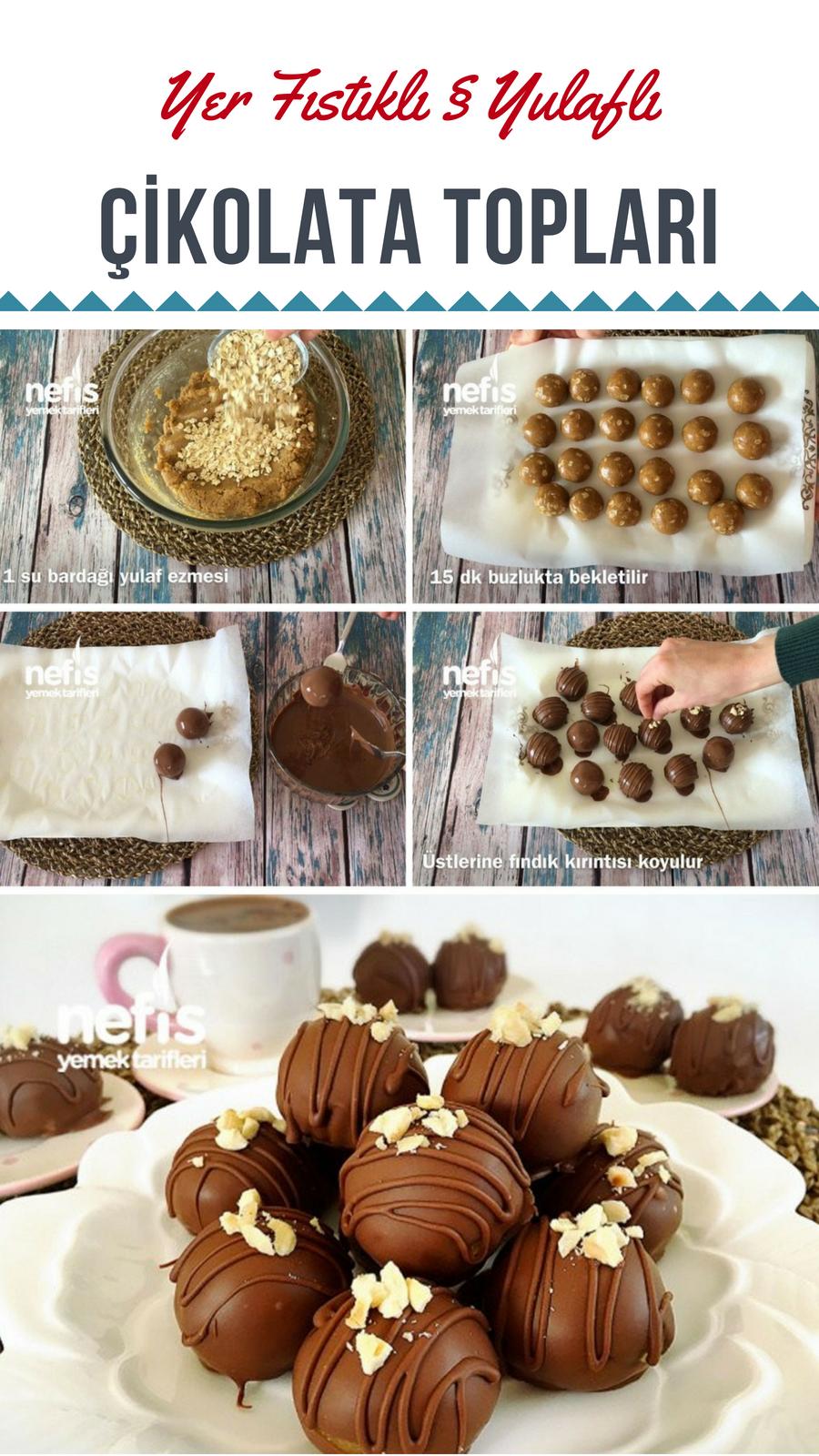 Çikolata Topları Tarifi Videosu