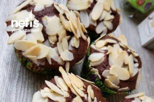 Bademli Çikolatalı Mini Muffin Tarifi