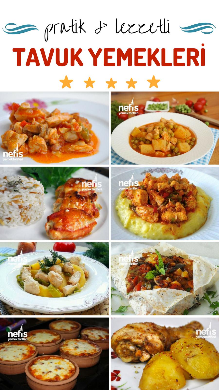 Tavuklu Türlü Yemeği – Pratik Tencere Yemeği – Denenmiş Tarifi