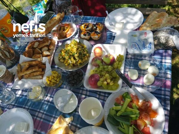 Piknik Te Kahvaltı Keyfi