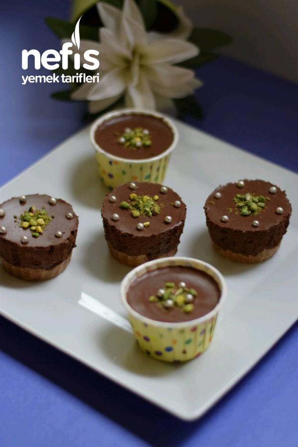 Çikolatalı Mousse (yumurtasız)