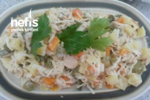 Garnitürlü Kereviz Salatası Tarifi