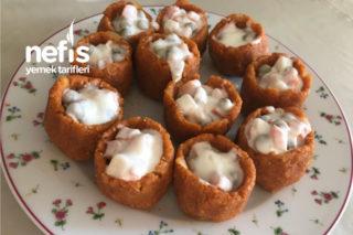 Garnitürlü Nefis Bulgur Çanakları (Aşama Aşama Anlatım) Tarifi