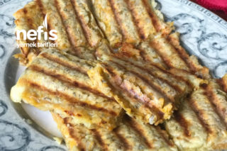 Tatlı Patates Tostu Tarifi
